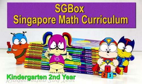 SGBox Singapore Math Curriculum For Kindergarten / Preschool